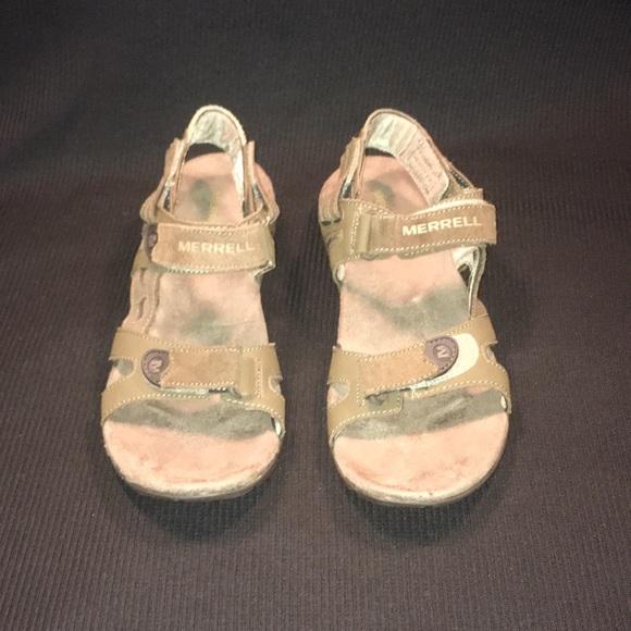 Merrell Other - Merrell Sport Sandals Air Cushion Soles Men Sz 8
